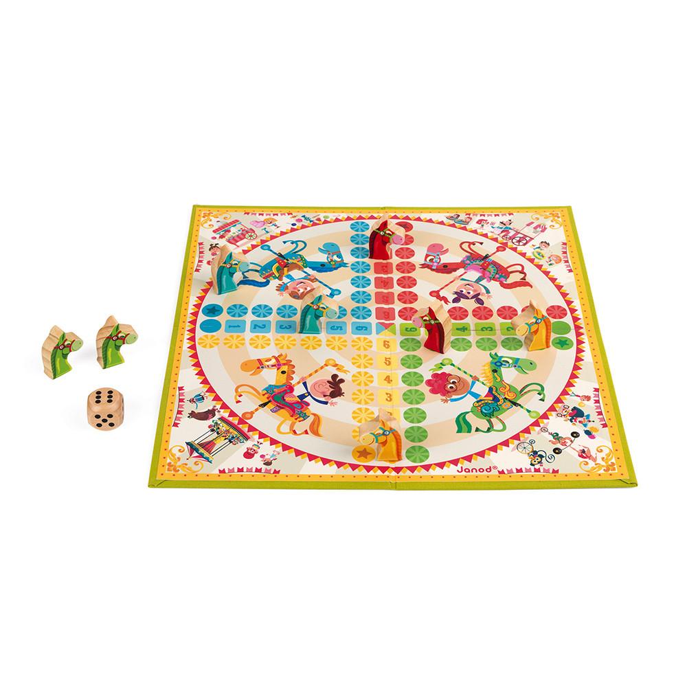 Не се сърди човече - настолна състезателна игра - детски играчки от Janod(2)-bellamiestore