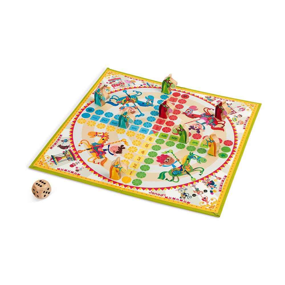 Не се сърди човече - настолна състезателна игра - детски играчки от Janod(4)-bellamiestore