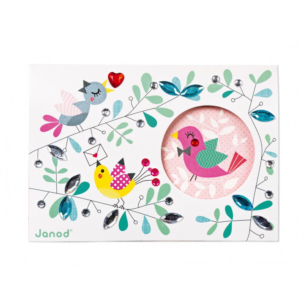 Творчески комплект за правене на картички- детски играчки от Janod-bellamiestore