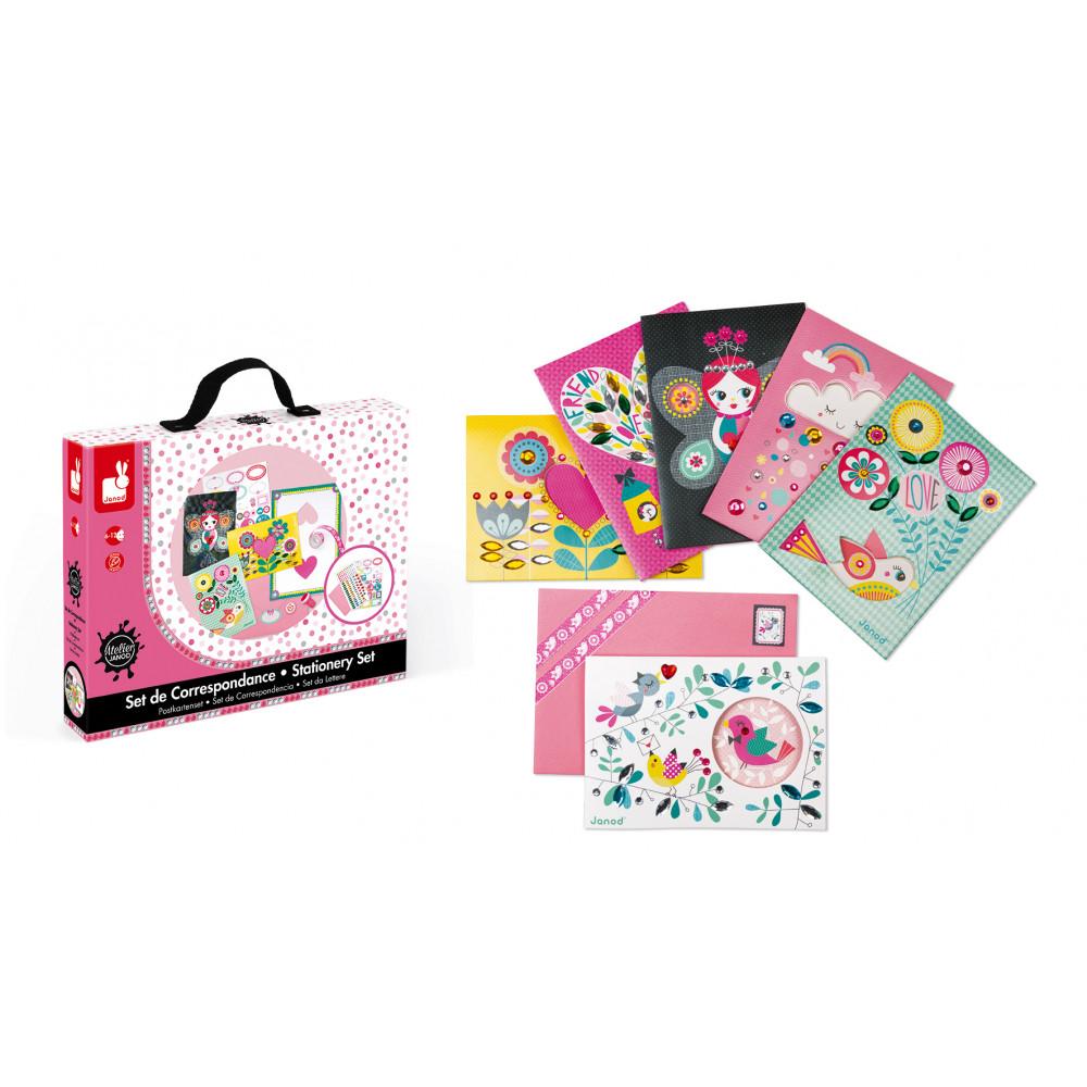 Творчески комплект за правене на картички- детски играчки от Janod(3)-bellamiestore
