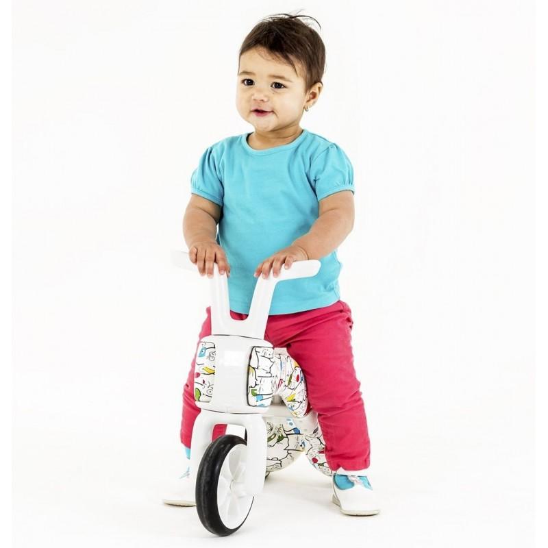 Bunzi детско колело за балансиране 2 в 1 артистик камуфлаж от Chillafish-bellamiestore