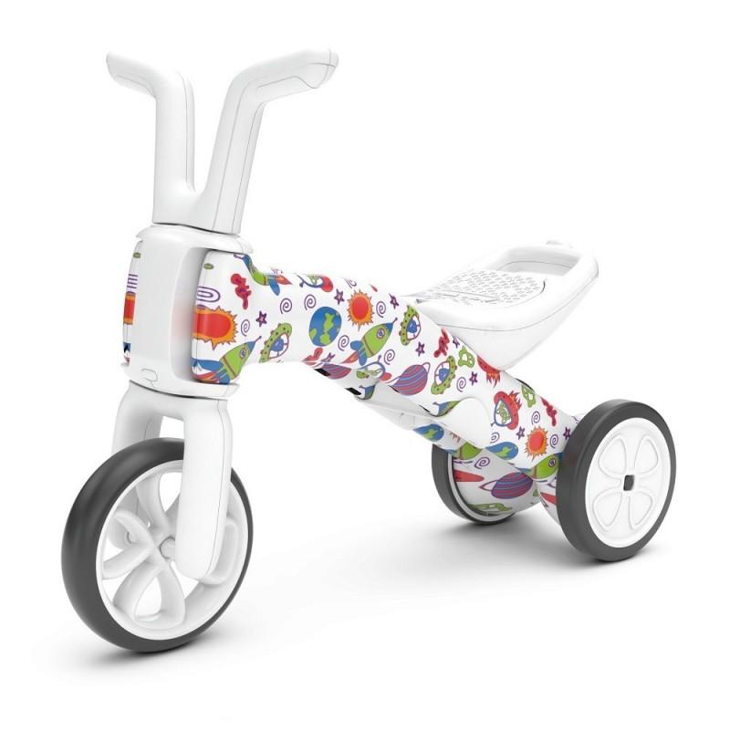 Bunzi детско колело за баланс Chillafish 2 в 1 космически чудовища-bellamiestore