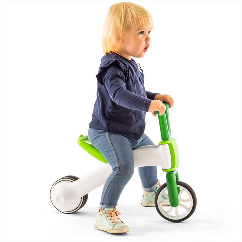 Bunzi детско колело за баланс в зелено от Chillafish-bellamiestore