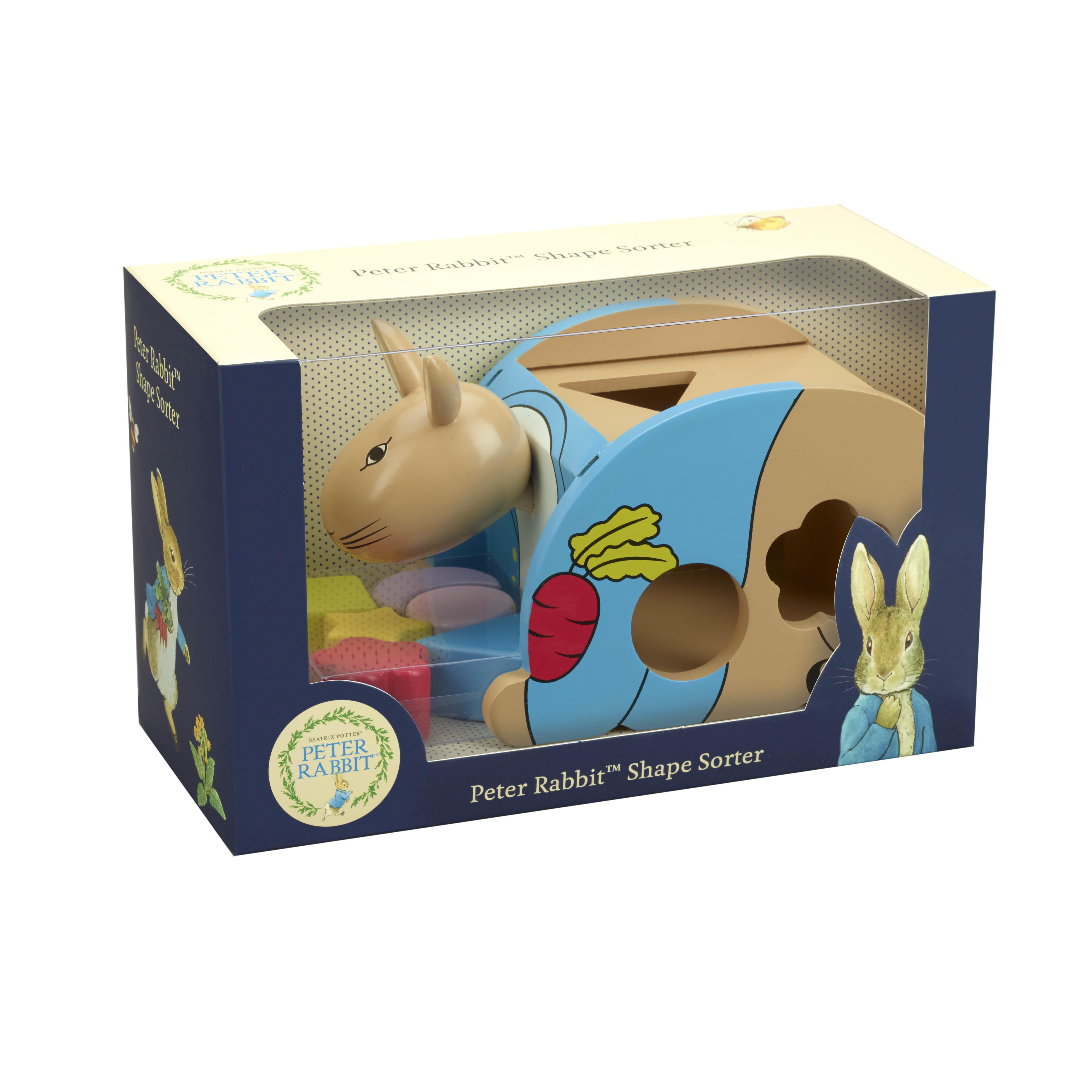 Дървен сортер – Зайчето Питър от Orange Tree Toys – дървена играчка