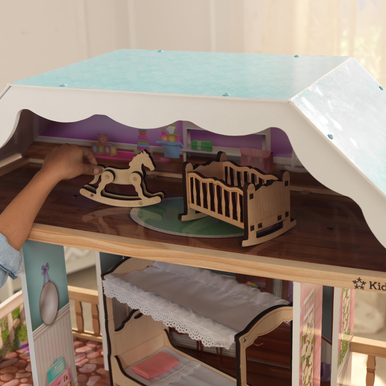 Дървена куклена къща Карлота от KidKraft – дървена играчка