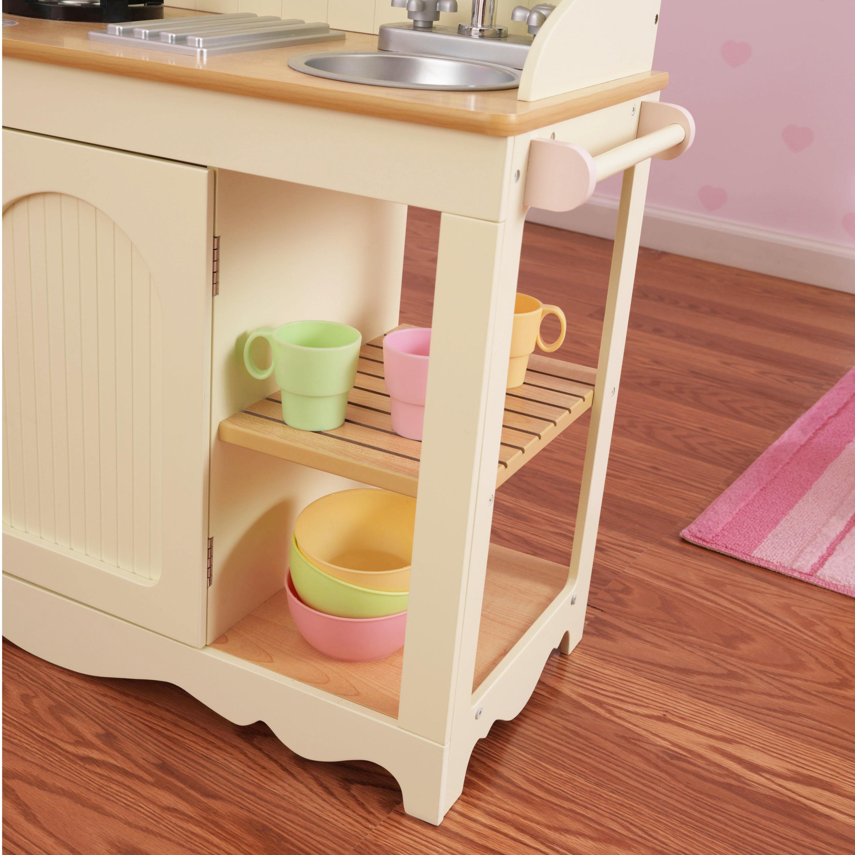 Детска винтидж дървена кухня от Kidkraft – дървена играчка