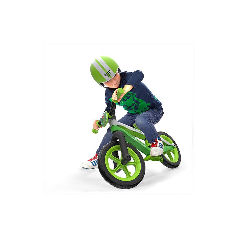 Детско колело за балансиране в зелено серия BMXie2 от Chillafish-bellamiestore