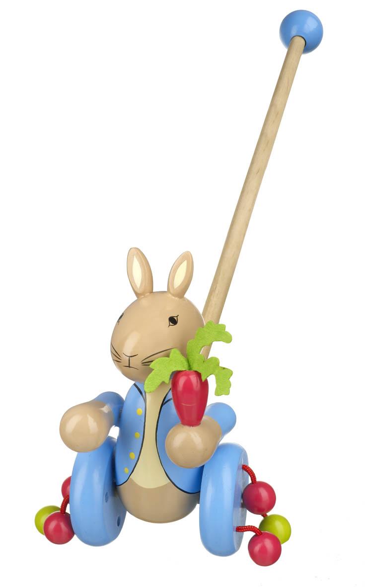 Играчка за бутане - Зайчето Питър от Orange Tree Toys - бебешка играчка - bellamie