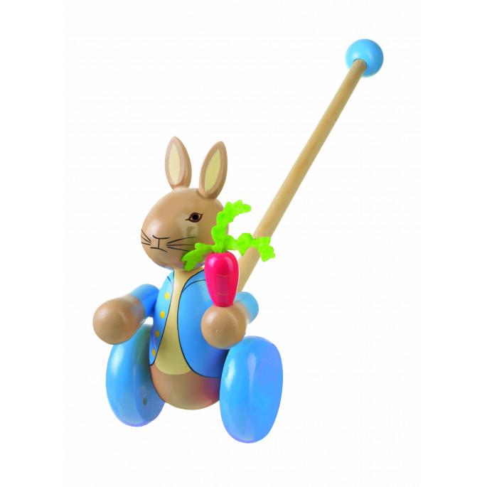 Играчка за бутане - Зайчето Питър от Orange Tree Toys-bellamiestore