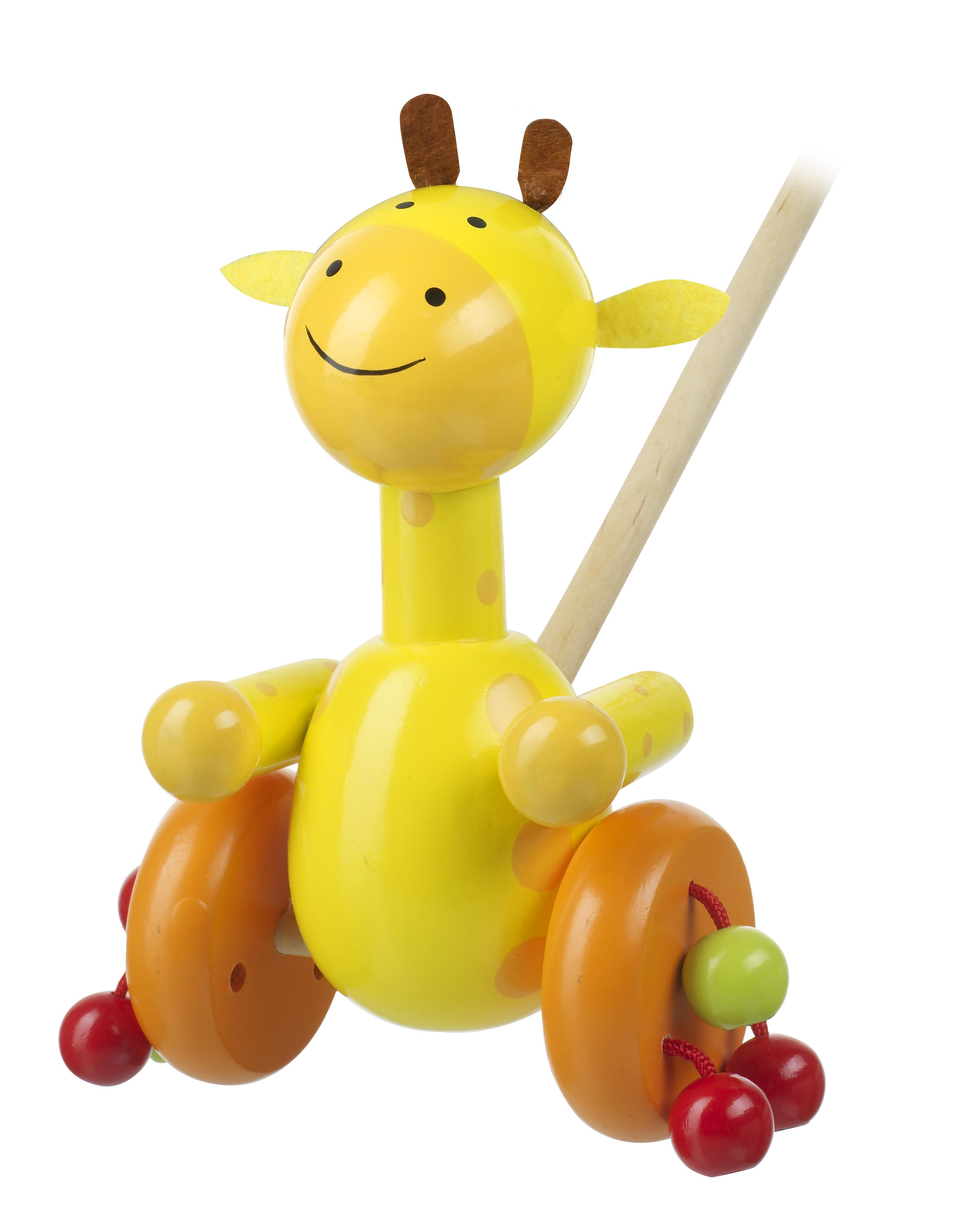 Играчка за бутане - Жираф от Orange Tree Toys - бебешка играчка - Bellamie