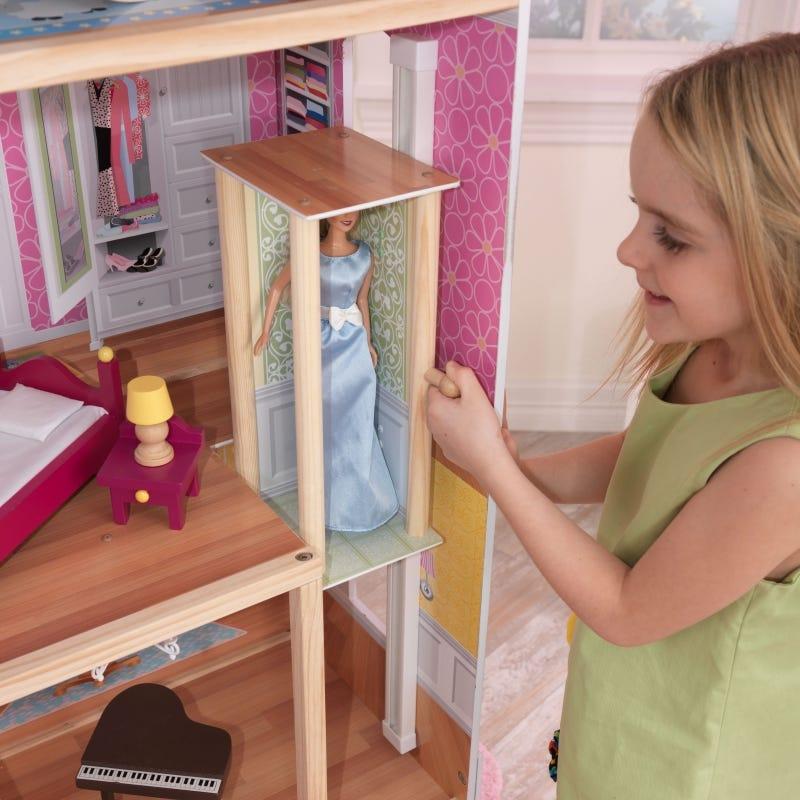 Къща за кукли Барби Маджестик - детска играчка от Kidkraft(5)-bellamiestore