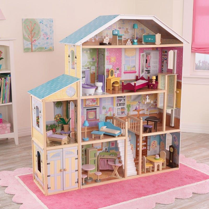 Къща за кукли Барби Маджестик - детска играчка от Kidkraft(4)-bellamiestore