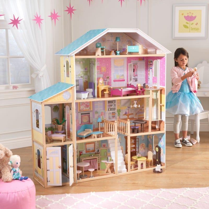 Къща за кукли Барби Маджестик - детска играчка от Kidkraft(2)-bellamiestore