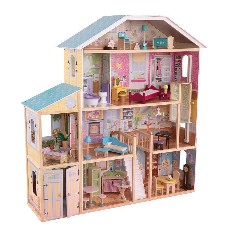 Къща за кукли Барби Маджестик - детска играчка от Kidkraft(1)-bellamiestore