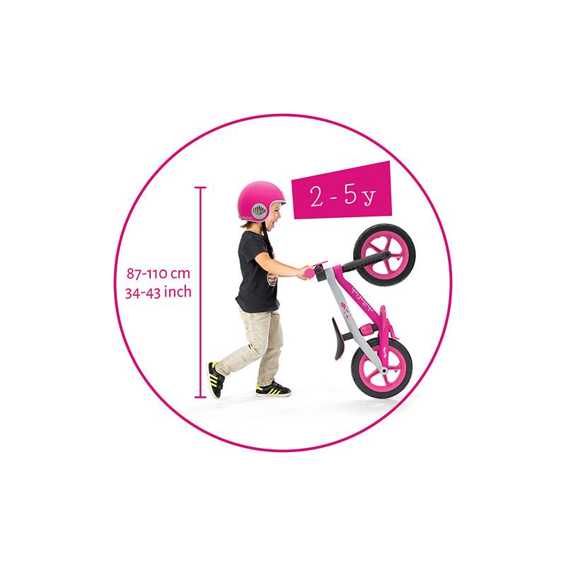 Детско колело за балансиране bmxie2 в розово - Chillafish-bellamiestore