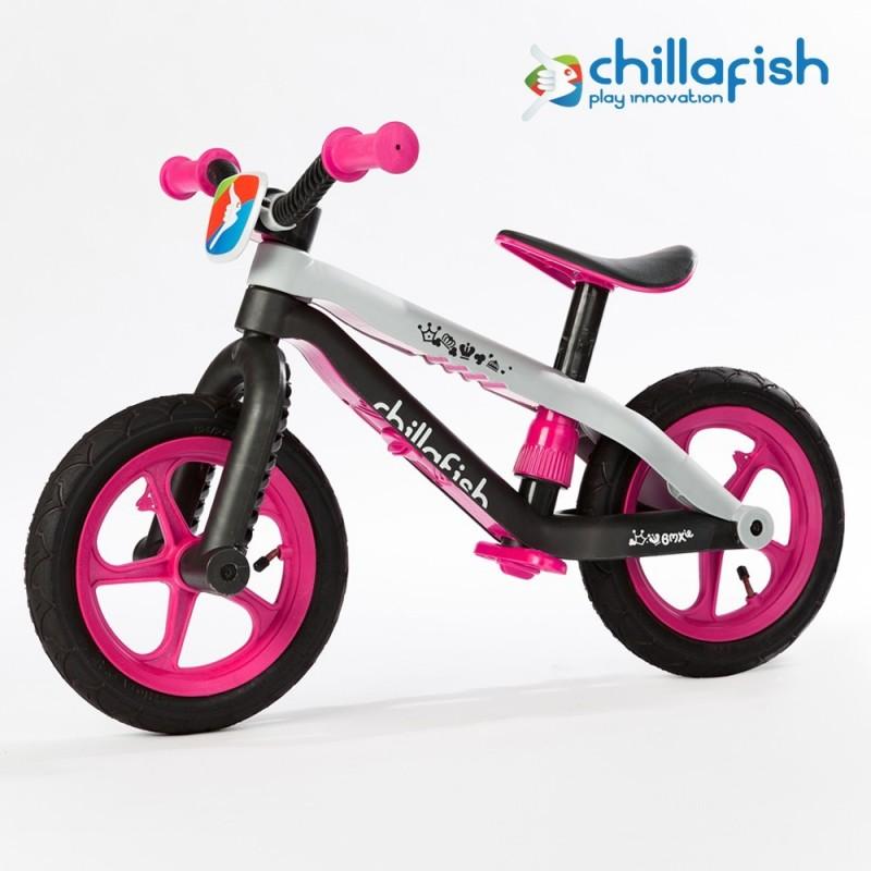 Детско колело за балансиране bmxie в розово - Chillafish(2)-bellamiestore