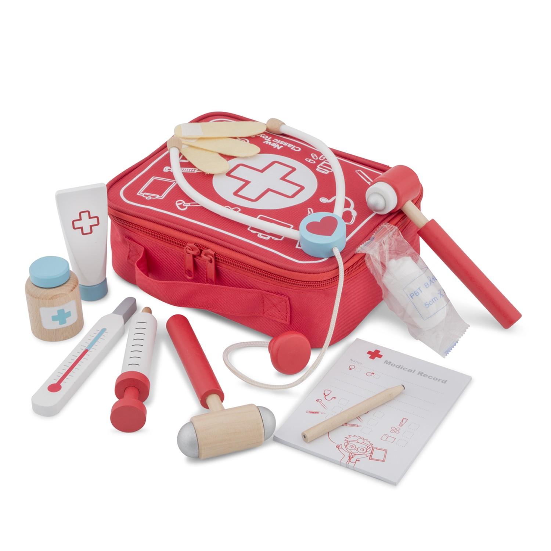 Докторски комплект в куфарче - ролеви игри от New classic toys-bellamiestore