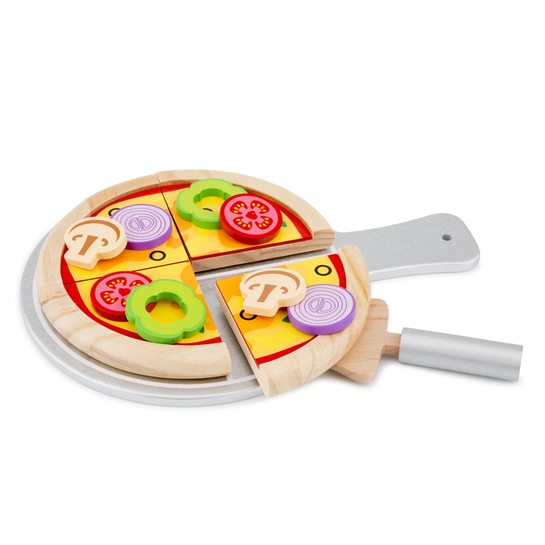 Дървен комплек - Направи си пица от New classic toys-bellamie