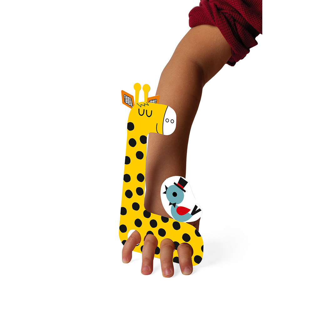 Janod - Творчески комплект - Оцвети кукли за театър-bellamiestore