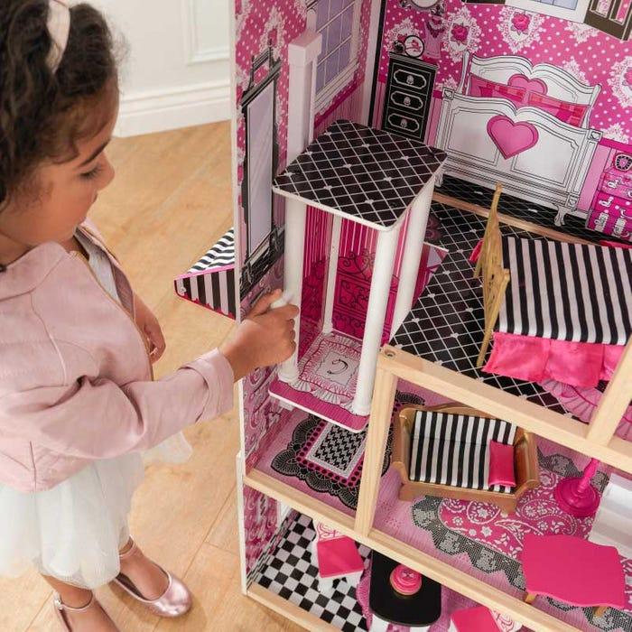 Kidkraft детска куклена къща с обзавеждане Белла-bellamiestore