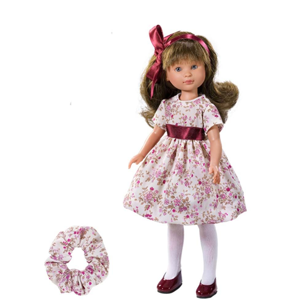 Asi - Кукла Силия с рокля на цветя 30 см.-bellamiestore