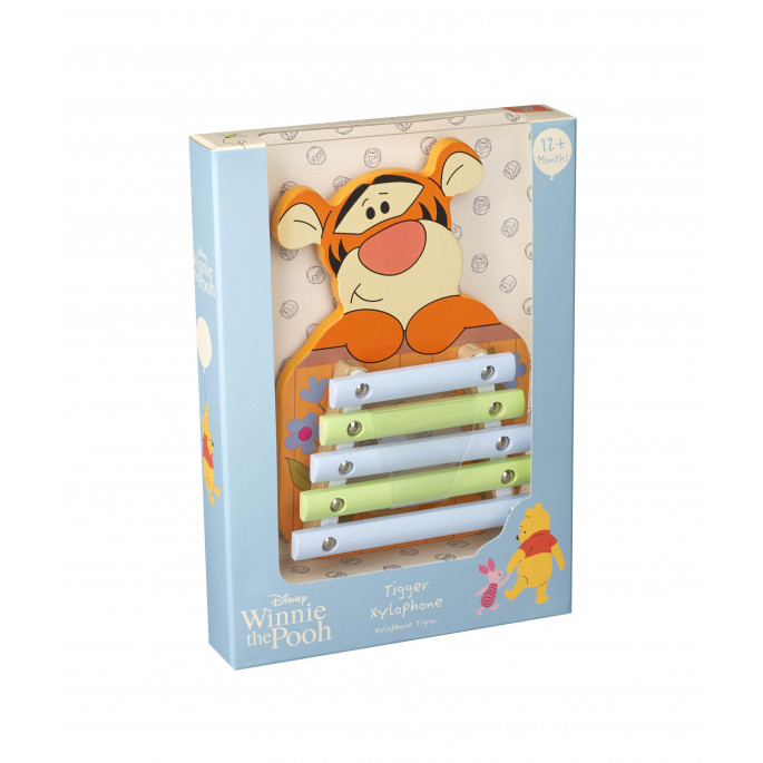 Disney детски дървен ксилофон - Тигър от Orange tree toys-bellamiestore