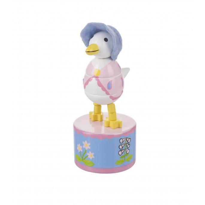 Дървена играчка - Патицата Джамайма от Orange tree toys-bellamiestore