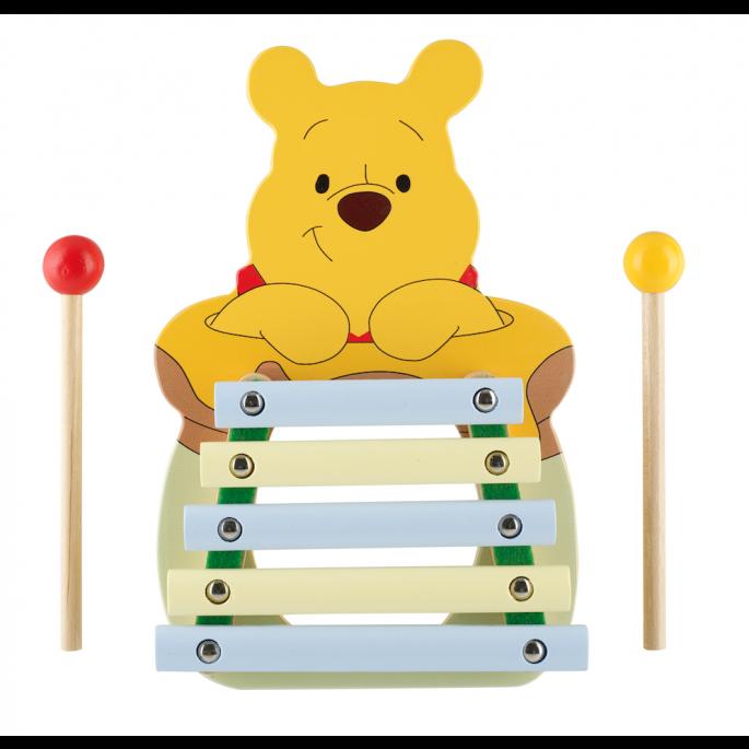 ксилофон за деца от дърво - Мечо Пух от Orange tree toys-bellamiestore