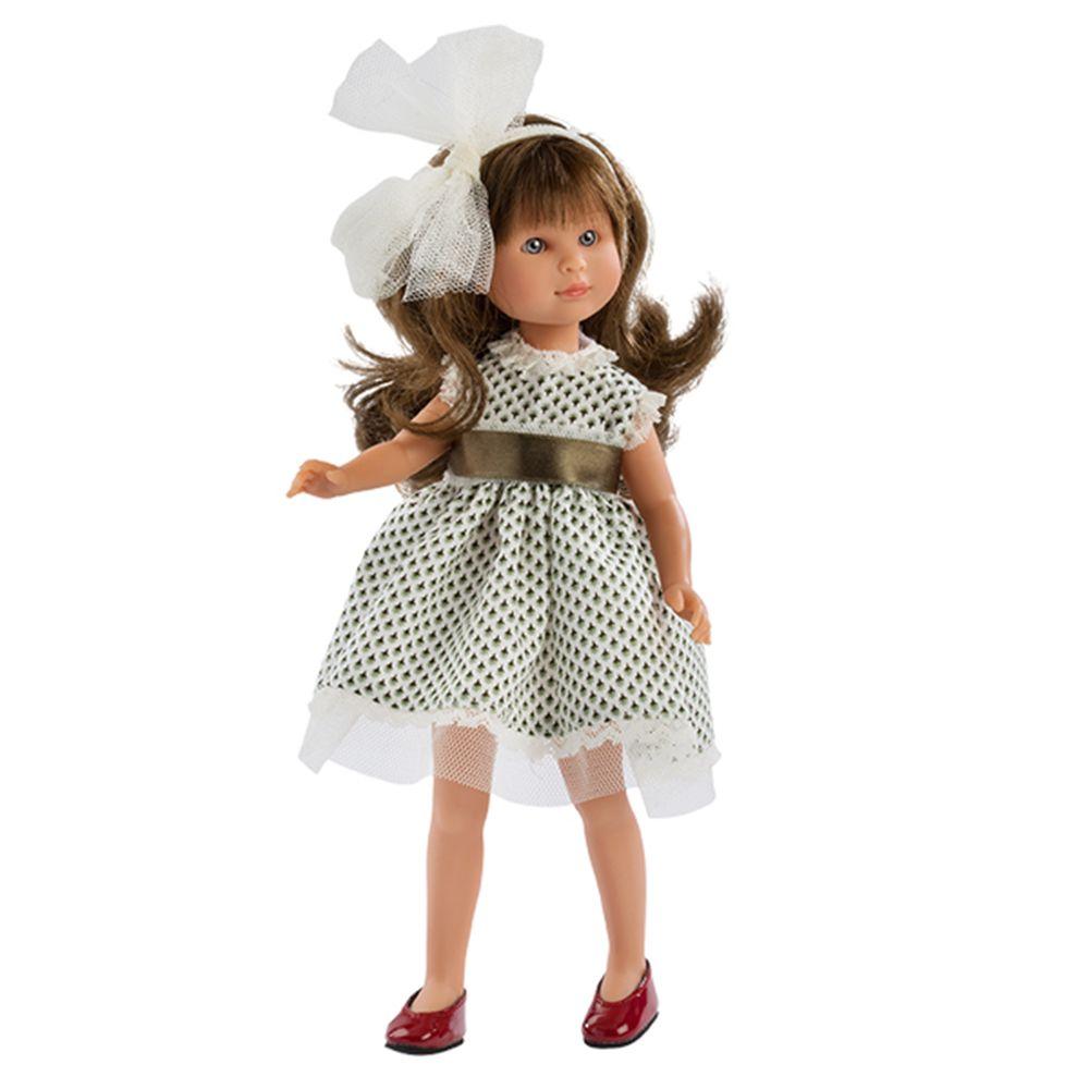 Кукла Силия с рокля от тюл и панделка 30 см. от Asi dolls-bellamiestore