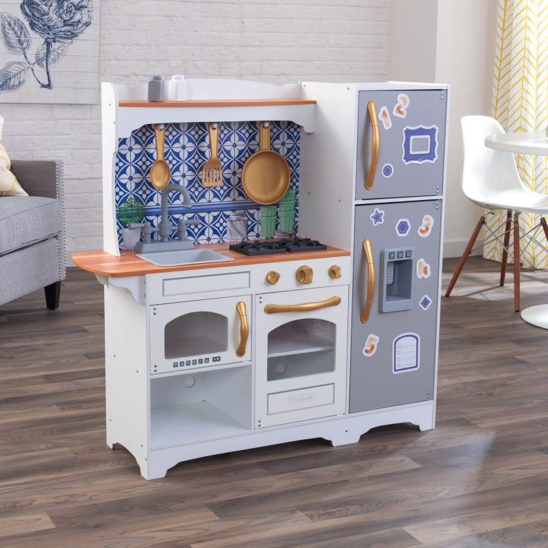 KidKraft детска кухня за игра с мозайка-bellamiestore
