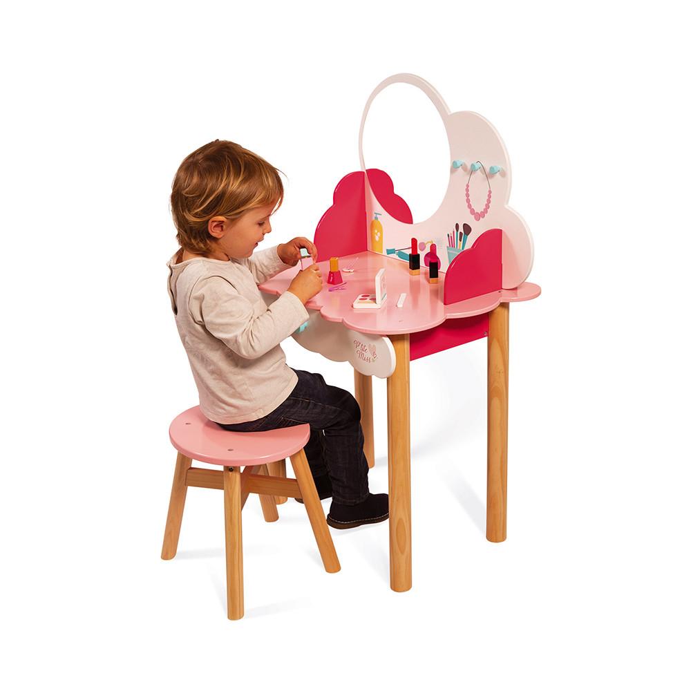 Детска дървена гримьорна за Принцеси от Janod-bellamiestore