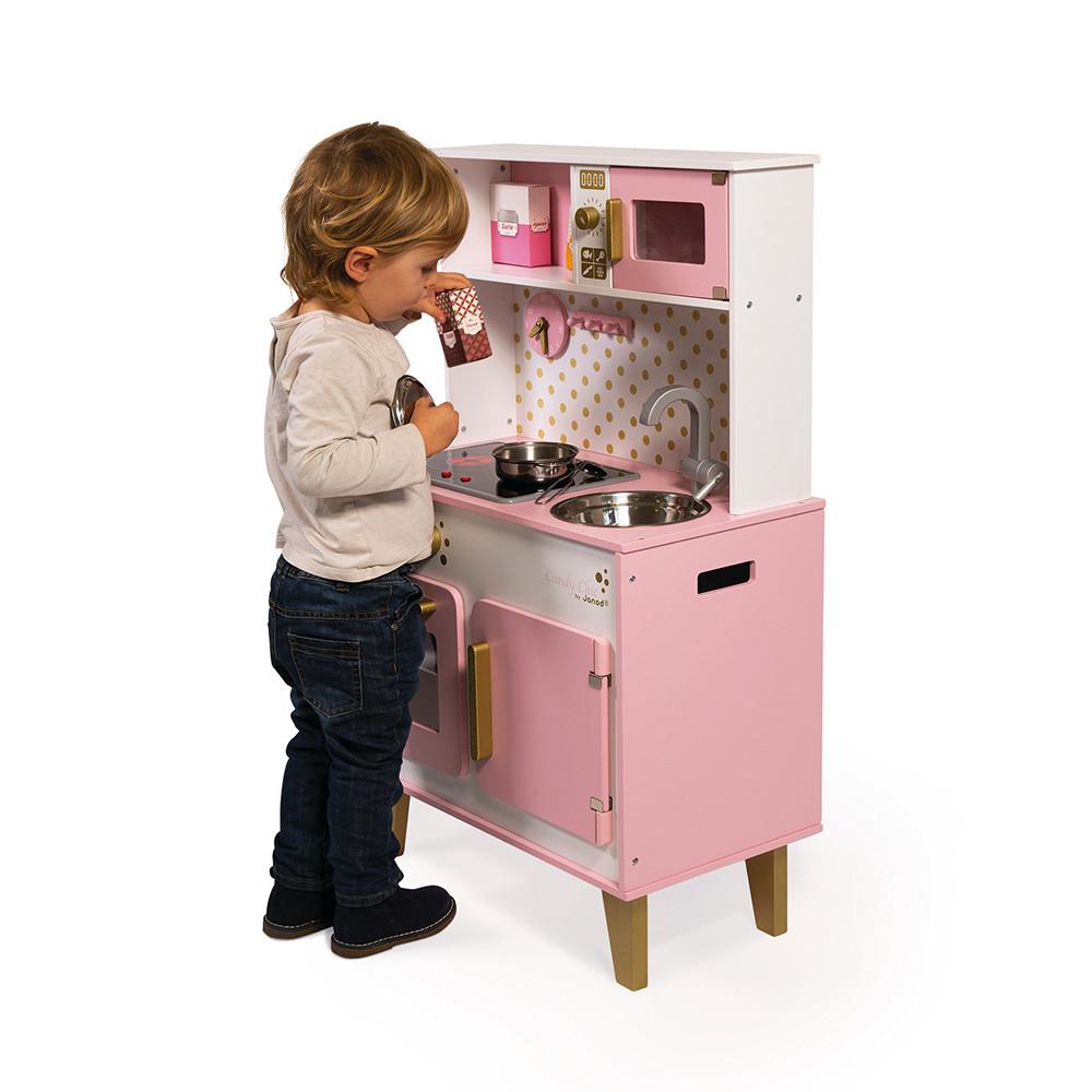 Детска дървена кухня Candy chic от Janod-bellamiestore