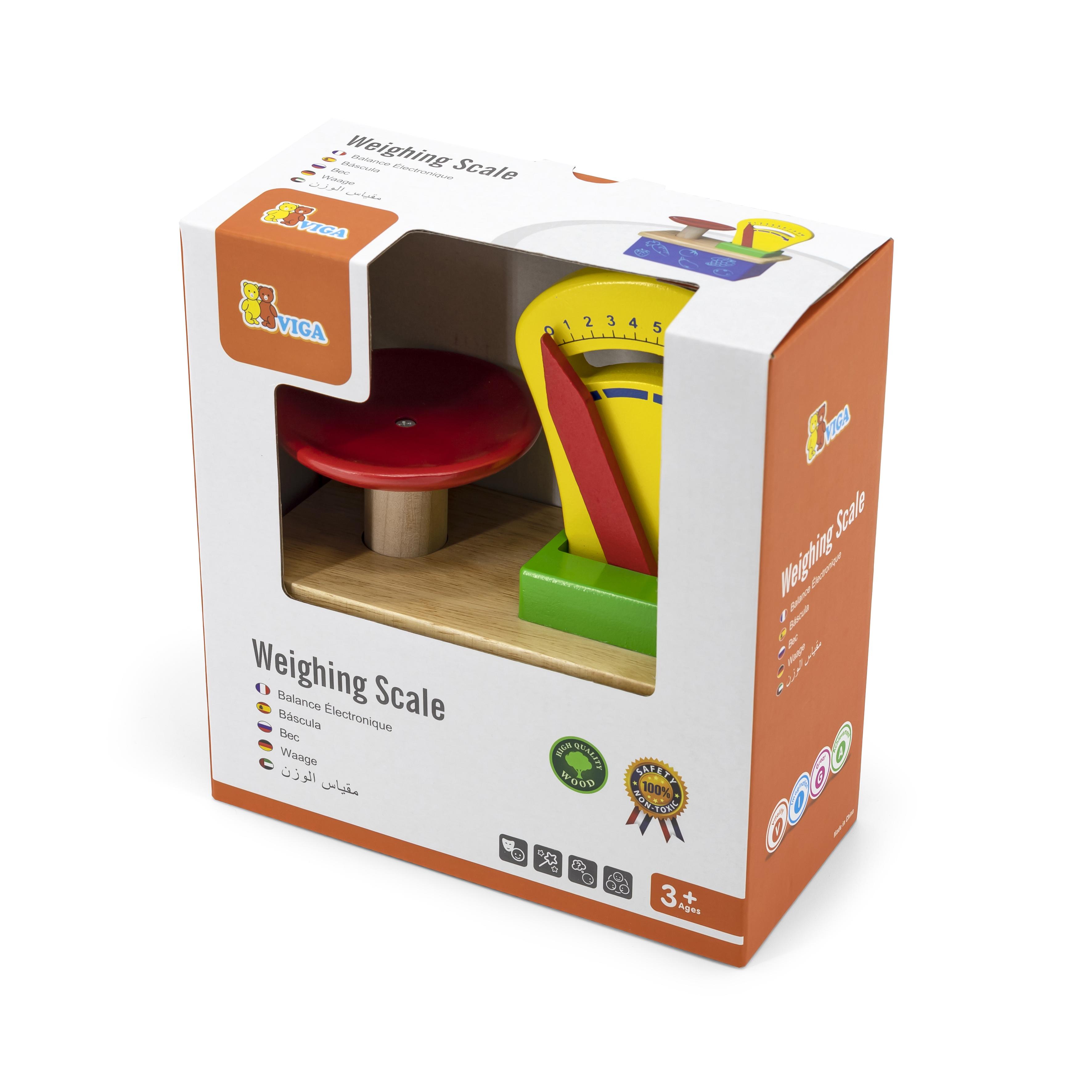 Дървен кантар за игра от Viga toys - bellamiestore