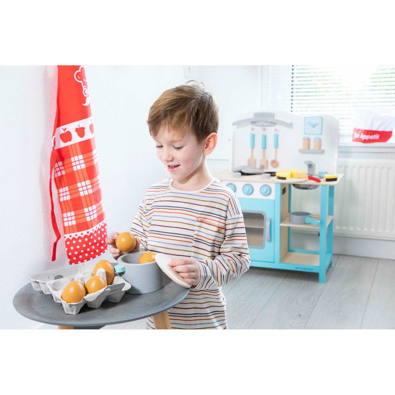 Дървени яйца в картонена кутия от New classic toys-bellamiestore
