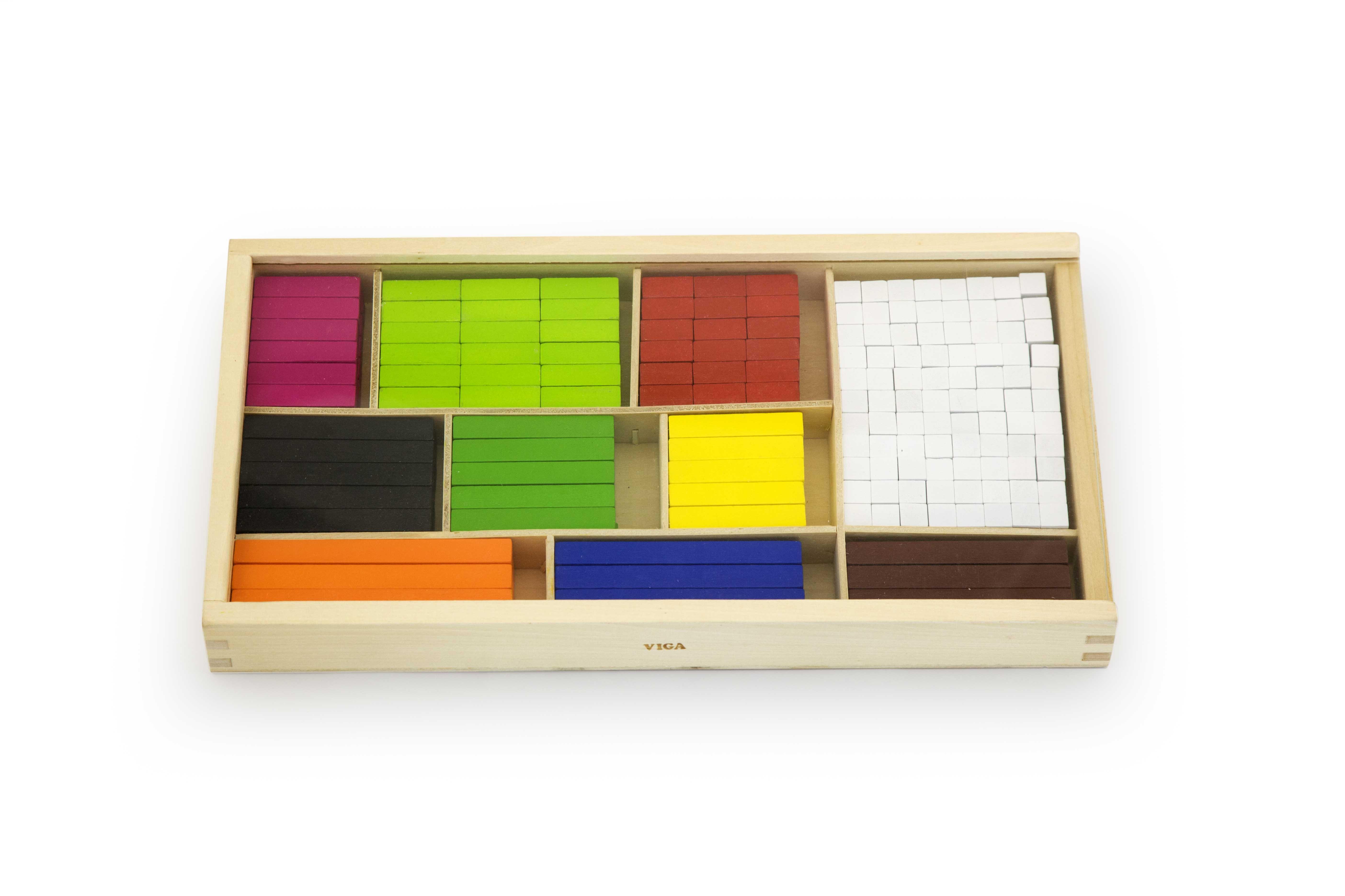 Viga toys дървени пръчици на Кюизинер-bellamiestore