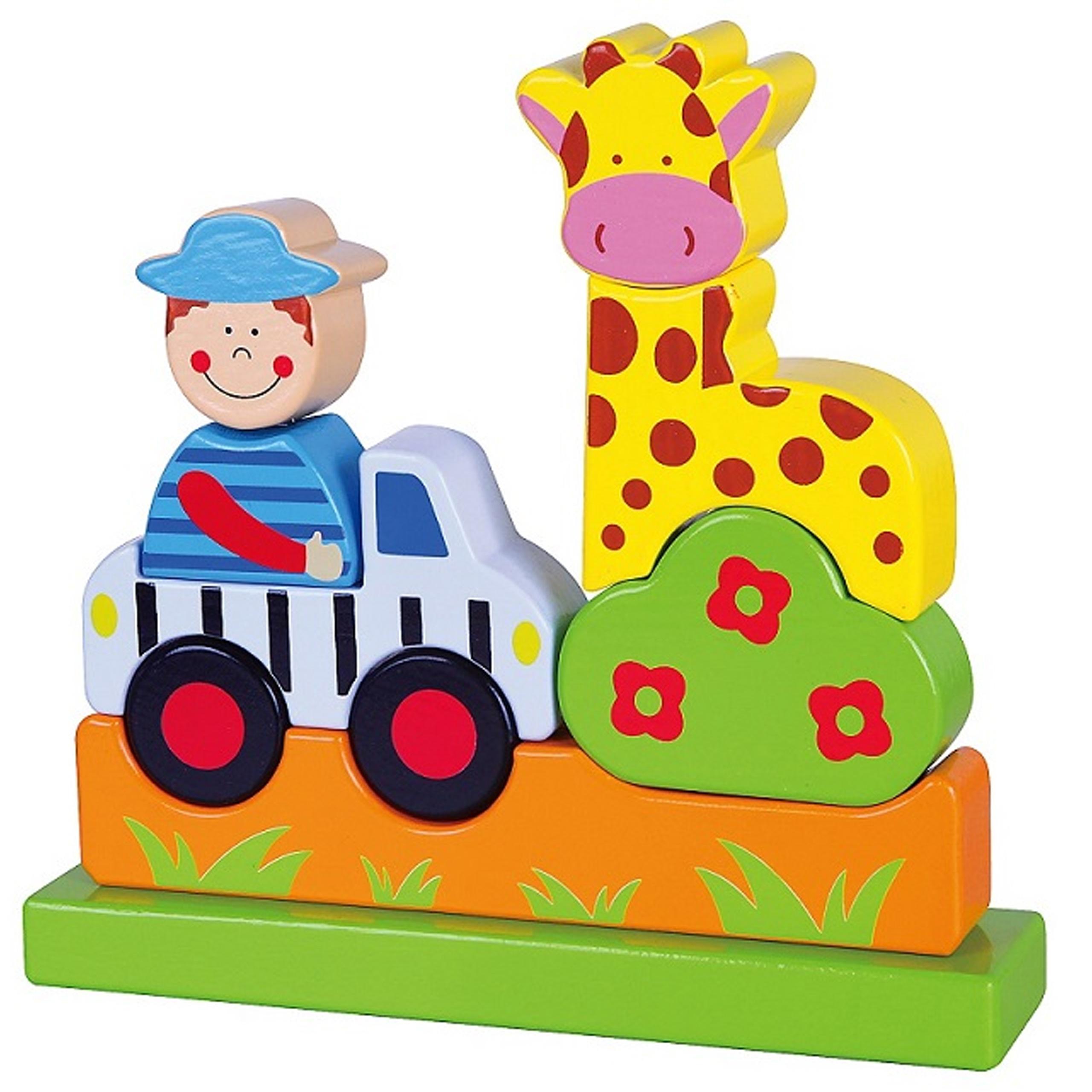 Viga toys детски магнитен пъзел Зоолог-bellmamiestore