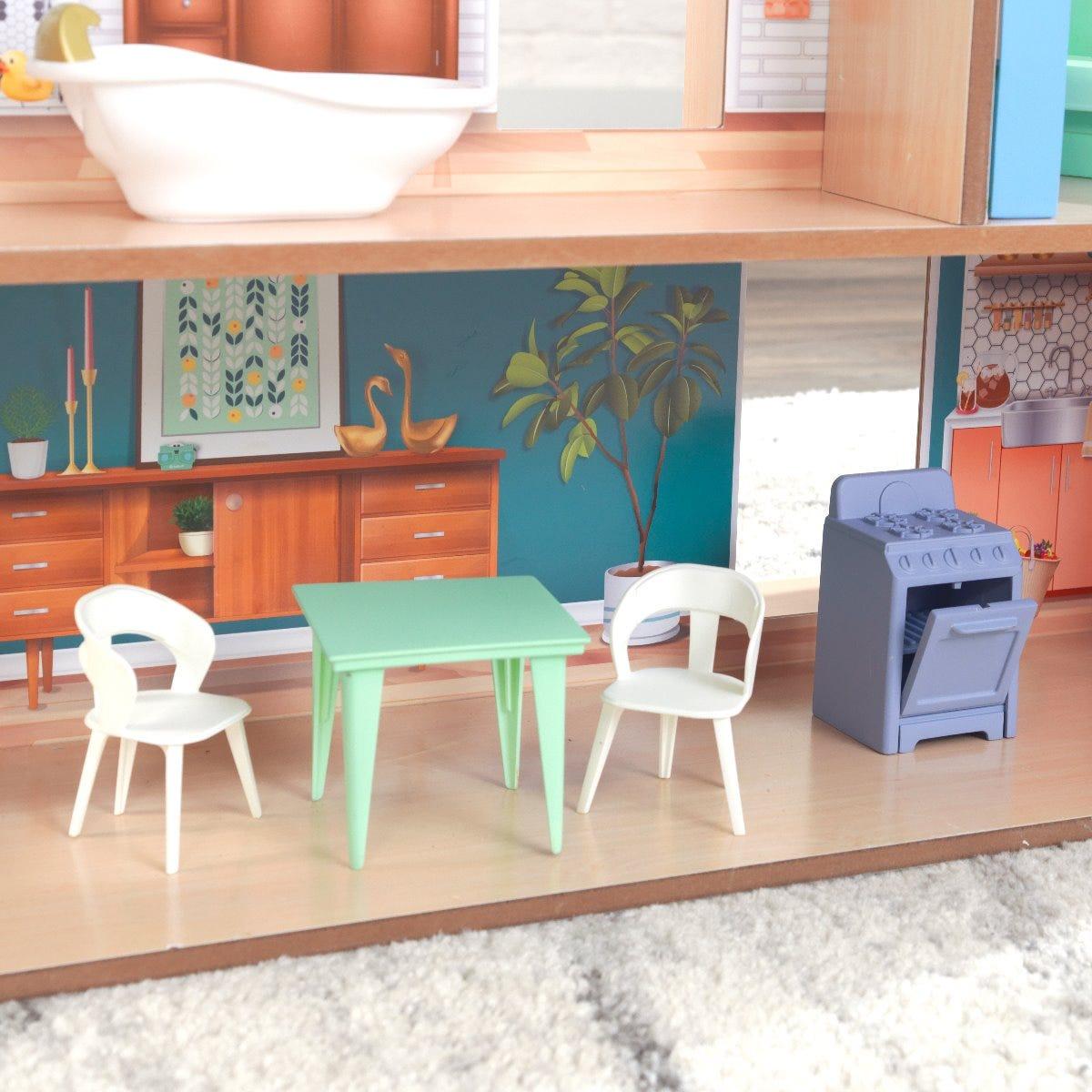 Дървена къщичка за кукли Хейзал от KidKraft-bellamiestoreДървена къщичка за кукли Хейзал от KidKraft-bellamiestore