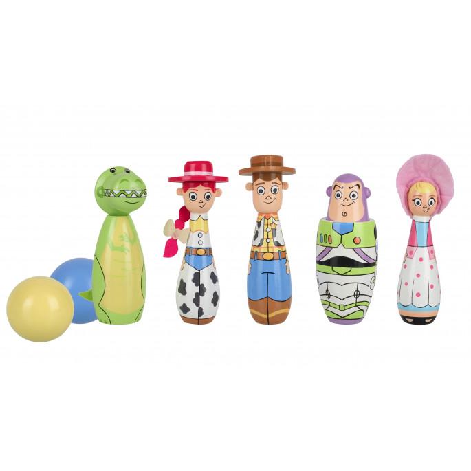 Дървен боулинг с героите от Играта на Играчките от Disney-bellamiestore