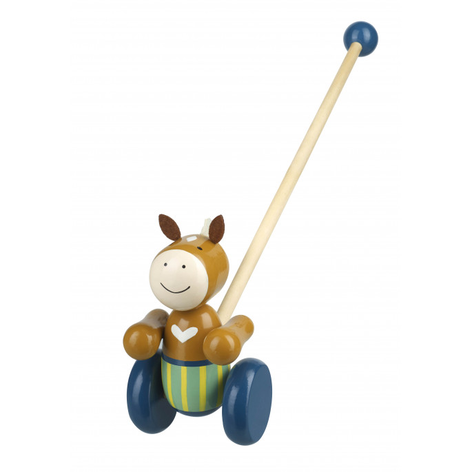 Дървена детска буталка Пони от Orange tree toys