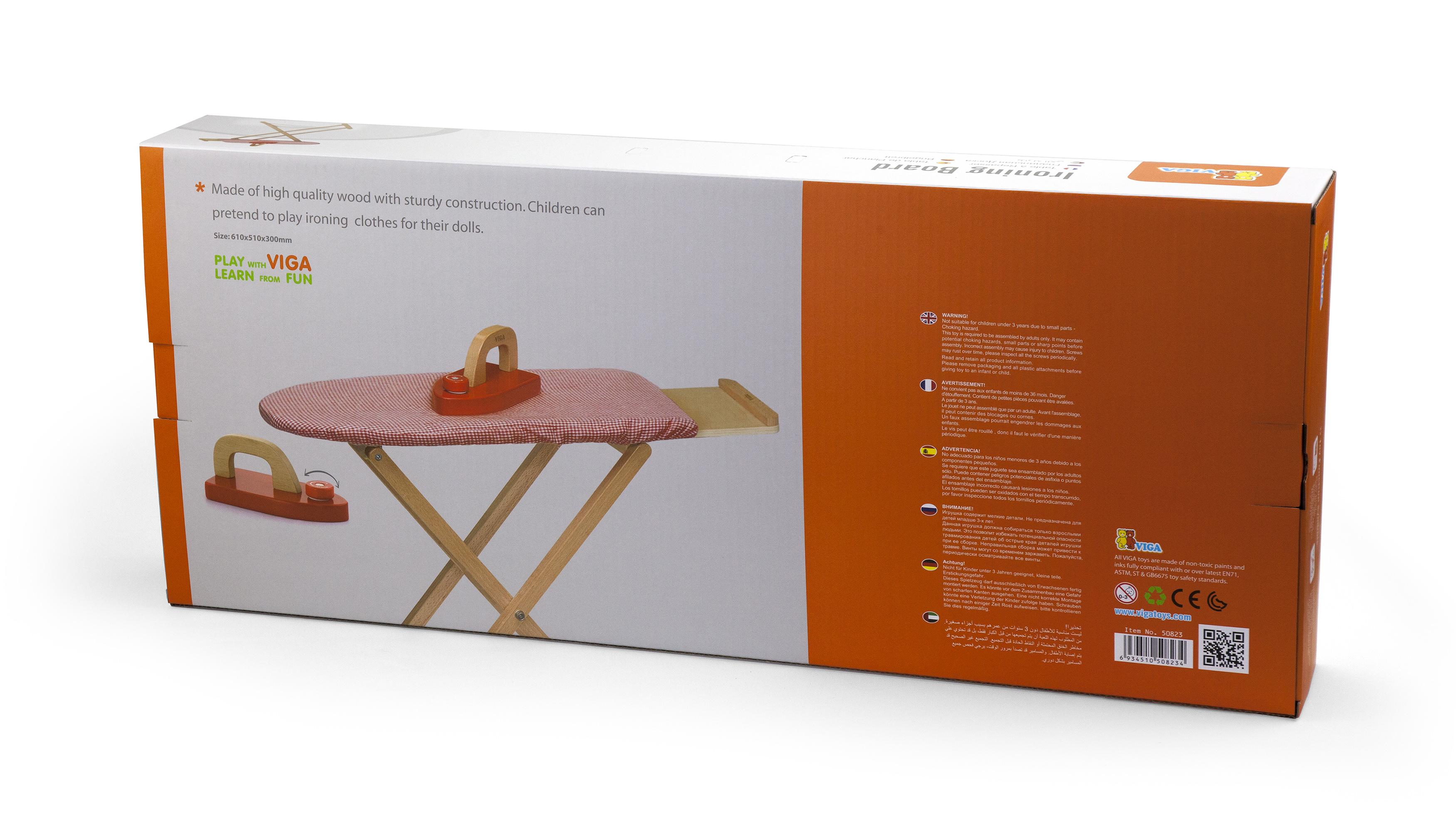 Дървена маса за гладене-детска играчка от Viga toys-bellamiestore