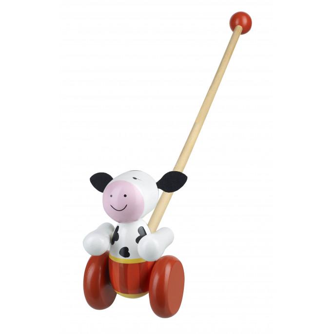 Детска дървена буталка Крава от Orange Tree Toys-bellamiestore