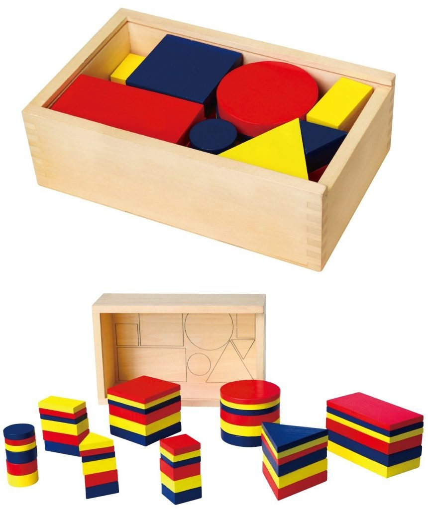 Логически блокове Денеш от Viga toys-bellamiestore