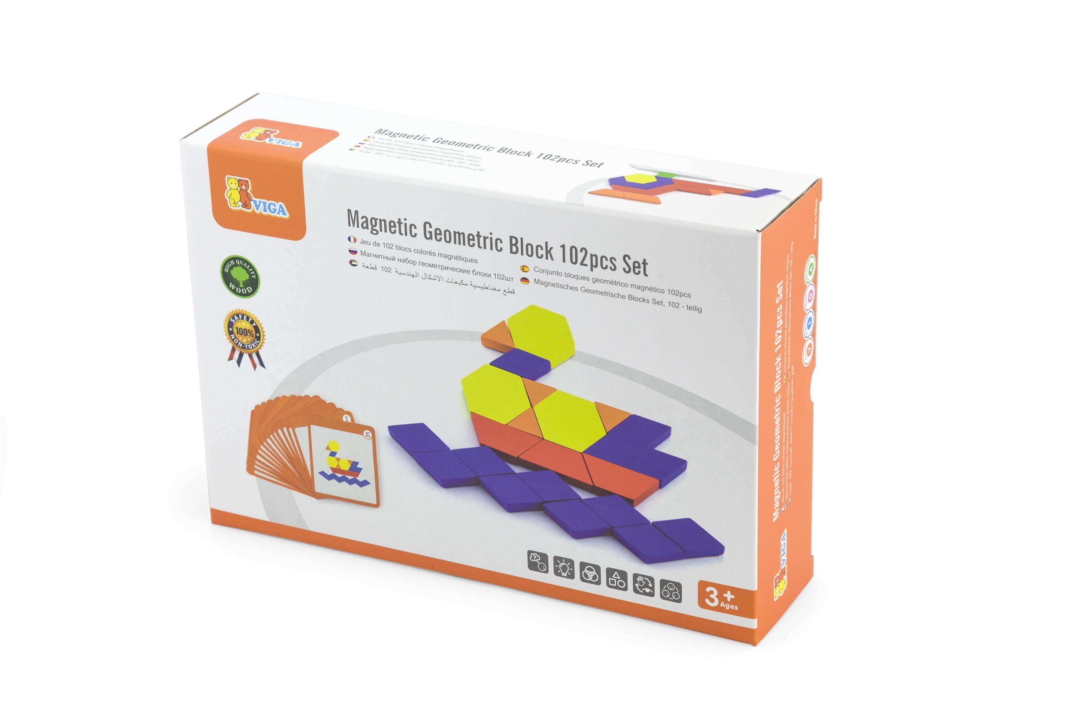 Магнитна мозайка за деца с картинки от Viga toys-bellamiestore