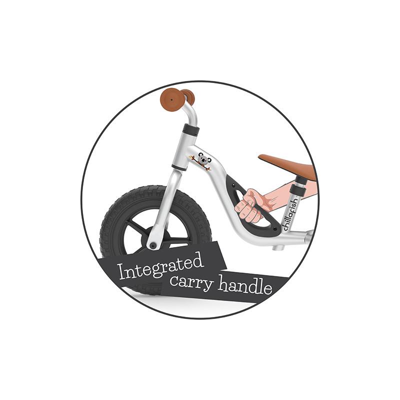 Детско колело за балансиране Chillafish Charlie черно-bellamiestore