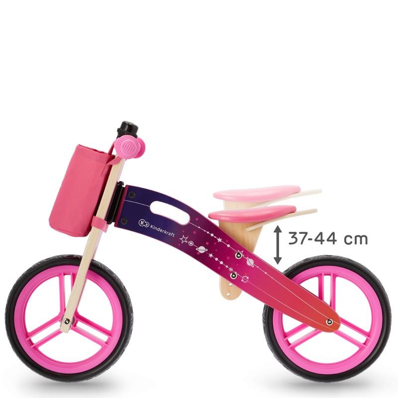 Детско колело за балансиране Kinderkraft runner galaxy розов-bellamiestore