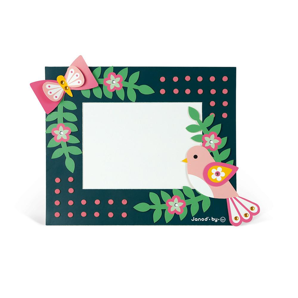 Janod творчески комплект-Направи си рамки за снимки-bellamiestore