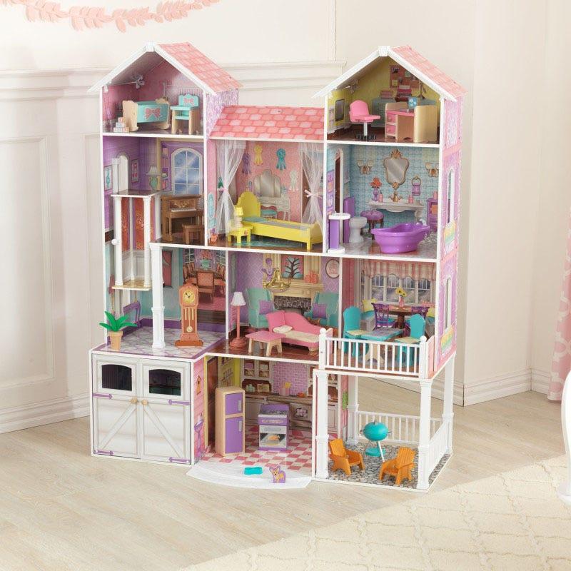 Къща имение за кукли Барби от KidKraft-bellamiestore