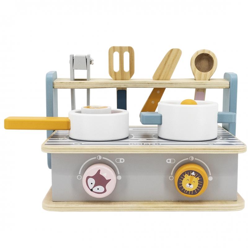 Преносима детска кухня и барбекю от Viga toys-bellamiestore