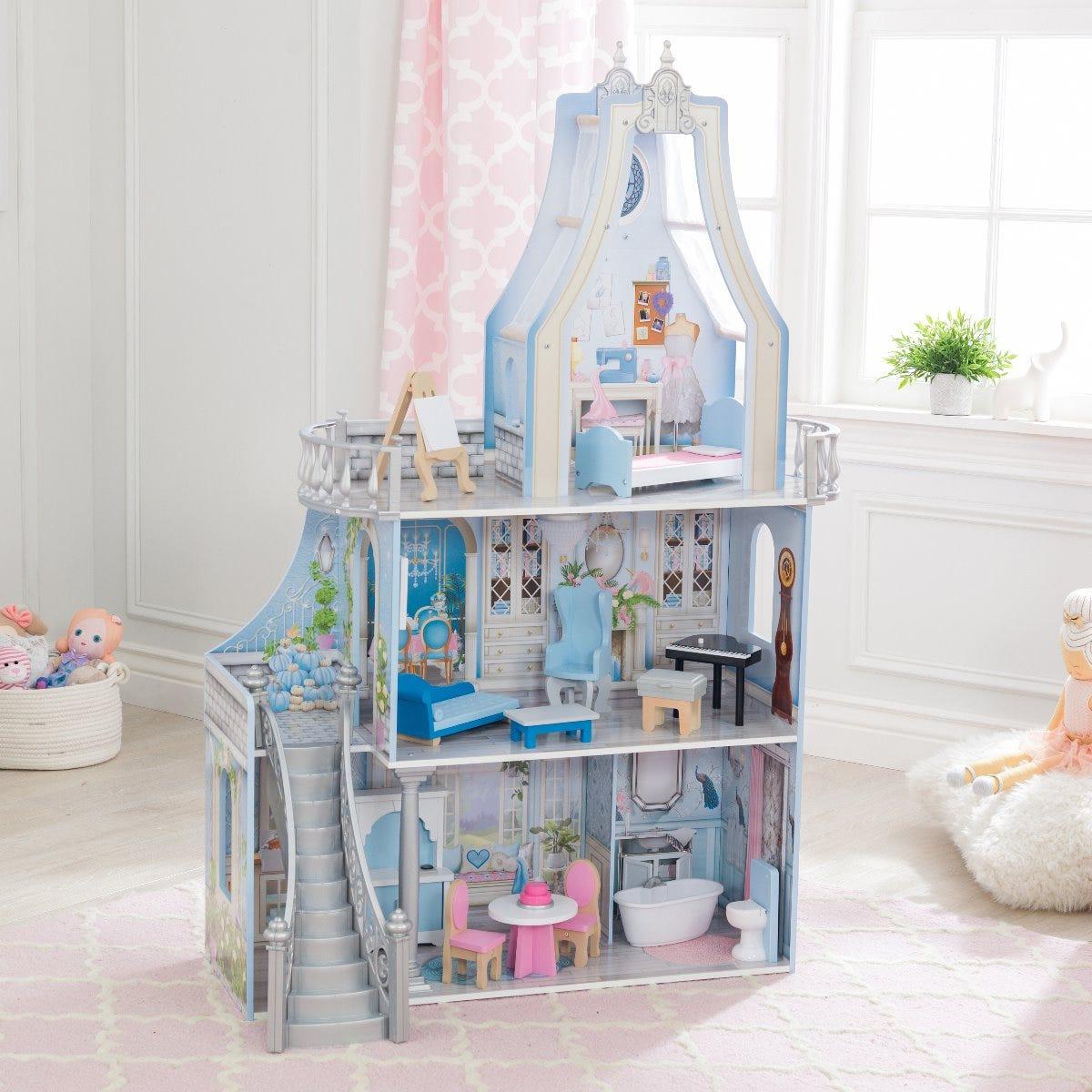 Вълшебен замък и къща за кукли от KidKraft-bellamiestore