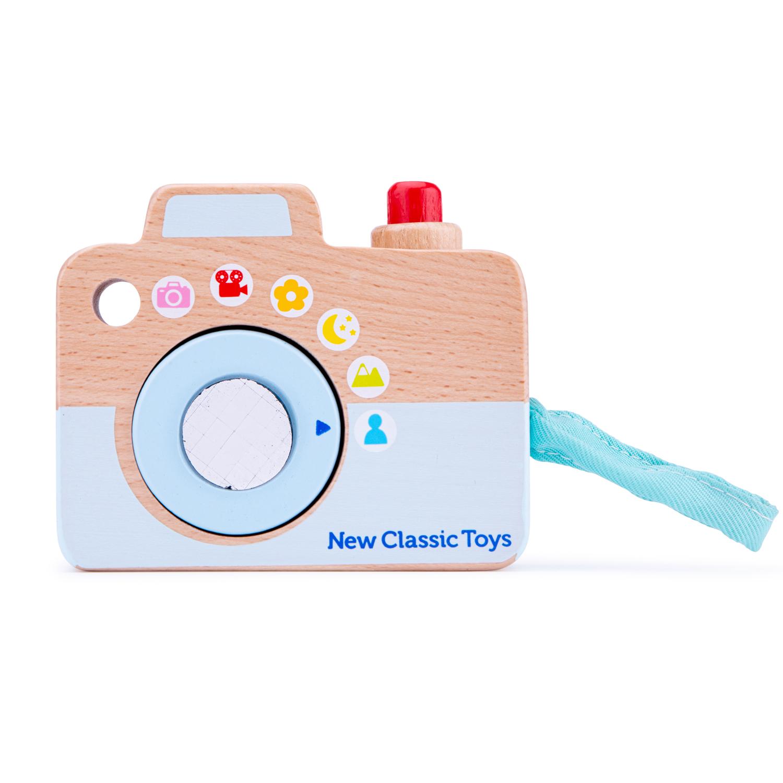 Детски дървен фотоапарат - New classic toys детски играчки-bellamiestore